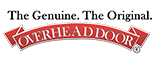 the genuine the original overhead door company logo