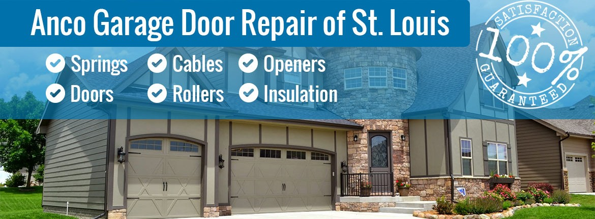 Garage door repair sales service anco overhead door for Garage door repair st louis mo