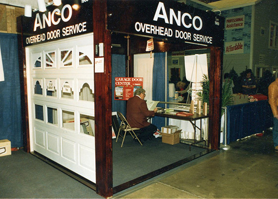 Photo From Anco Booth In 1987 Home Show