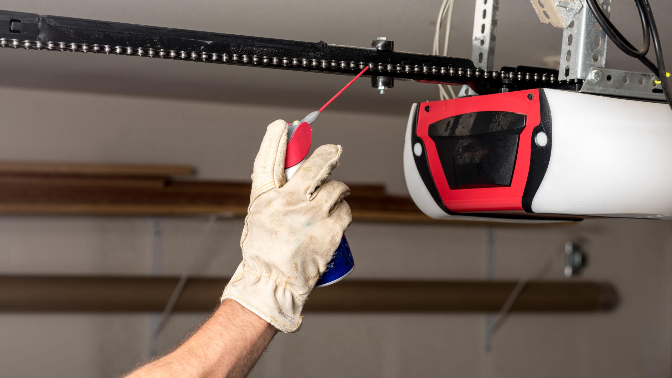 How To Fix A Noisy Garage Door