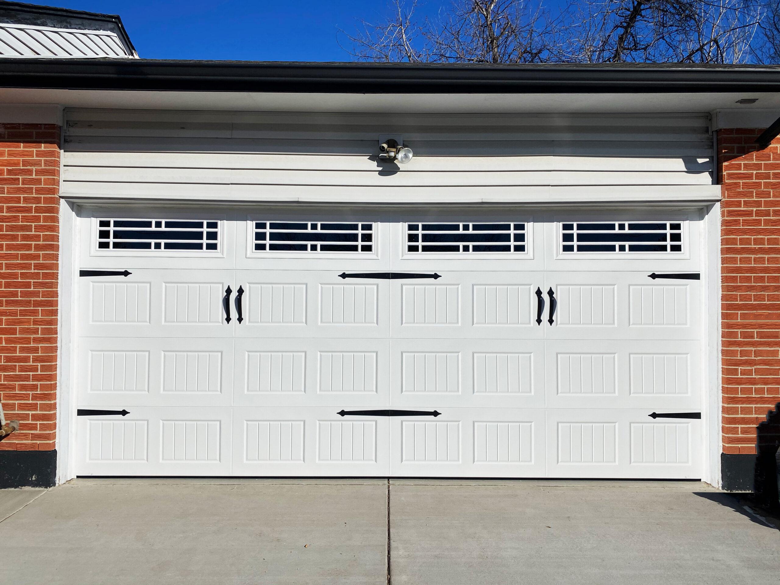 5 Budget-Friendly Garage Door Makeover Ideas