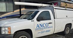 anco overhead door service truck