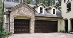 photo of new garage door installed