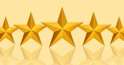 5 star ratings banner for anco overhead door